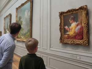 Looking at art at the National Gallery