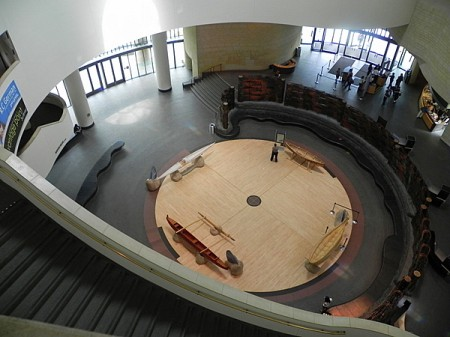 Potomac Atrium in the National Museum of the American Indian