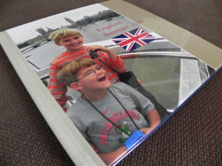 Shutterfly Custom Path photo book cover