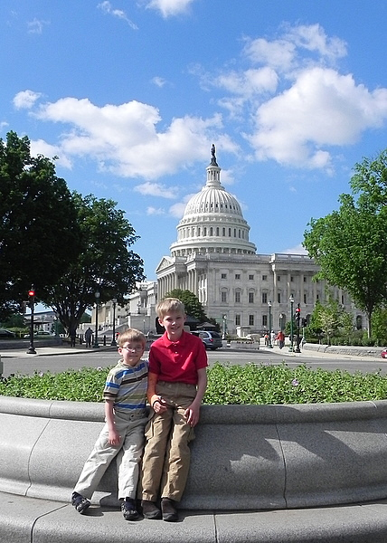 Taking kids to Capitol Hill