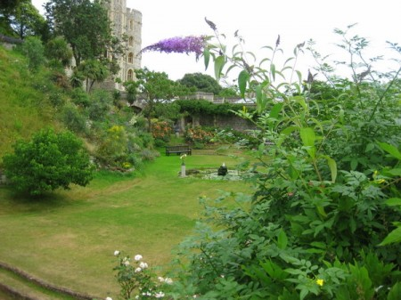 Garden at Windsor Castle