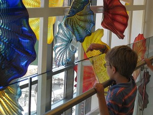 Glass art at the Delaware Art Museum