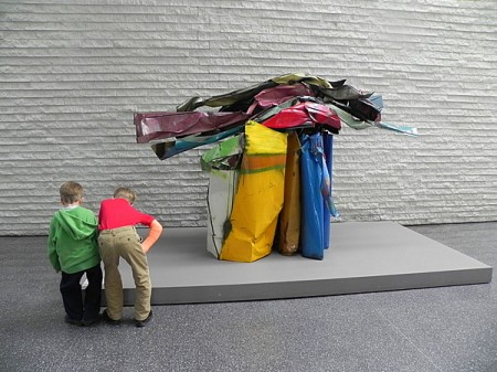 How to take kids to an art museum