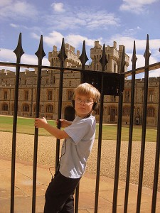 Kids at Windsor Castle