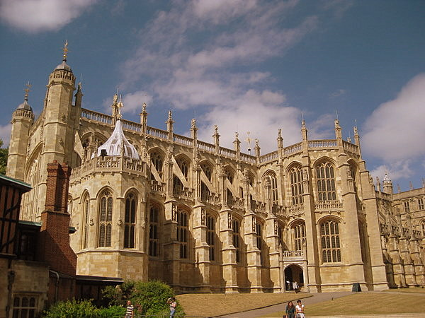 Saint George's Chapel at Windsor Castle