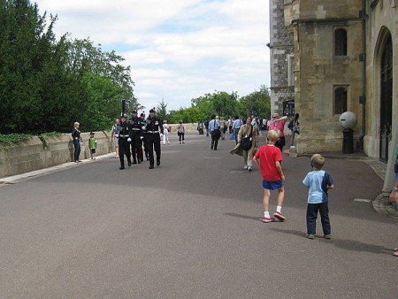 Soldiers at Windsor Castle