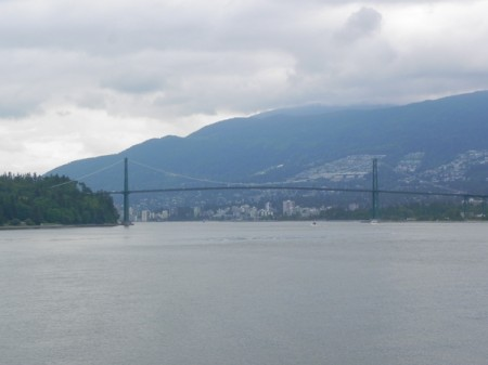 View from Stanley Park, Vancouver