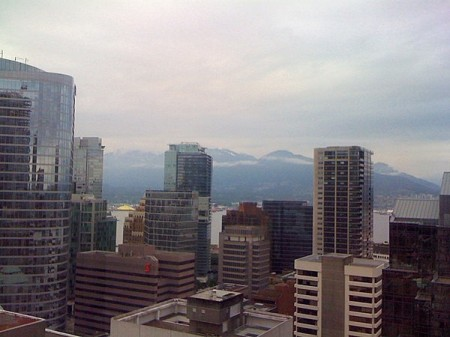View from the Four Seasons Vancouver