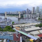 View of Granville Island, Vancouver