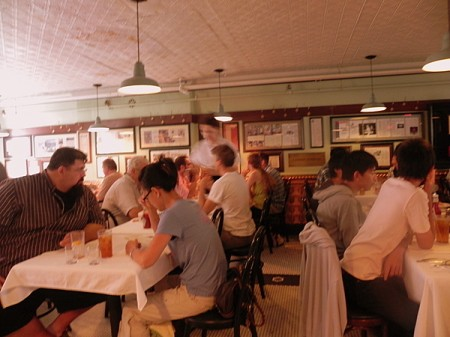 Dining room at Durgin Park Restaurant in Boston