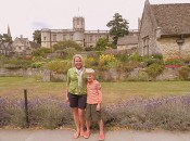Visiting the War Memorial Garden at Christ Church College, Oxford University