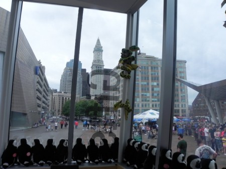 Marriott Custom House Boston from the New England Aquarium