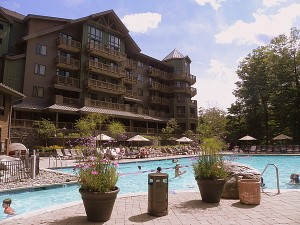Pool at Stowe Mountain Lodge