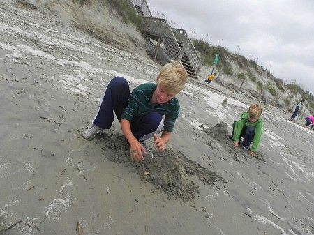 More sand castles in the Currituck Outer Banks