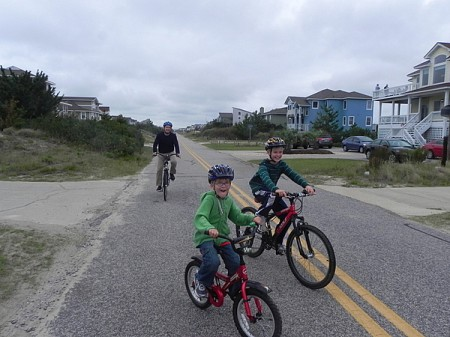 Biking in the Currituck Outer Banks