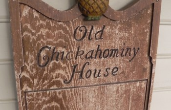 Old Chickahominy House sign