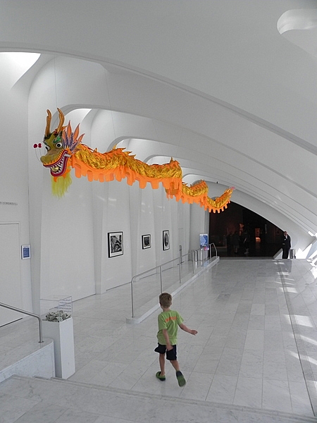 Chinese Dragon at the Milwaukee Art Museum