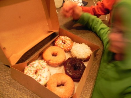 Hey! Those are my donuts!