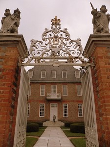 Governor's Palace in Colonial Williamsburg