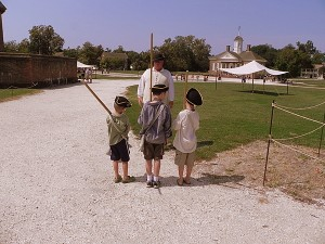 Mustering the troops at Colonial Williamsburg