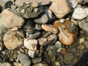 River Rocks from the Mad River Valley, Vermont