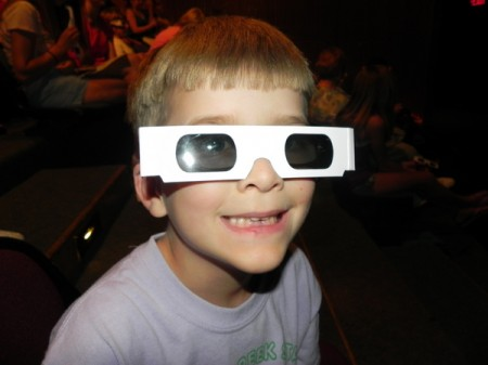 3-D Cinema at the Museum of Science in Boston