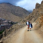 Walking in the Atlas Mountains