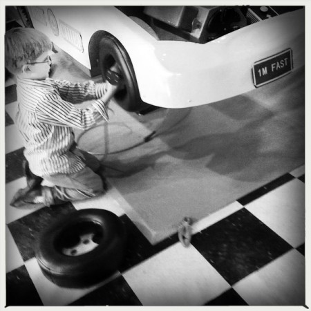 Car repair at the Delaware Children's Museum