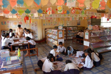 Room to Read library, Kampon Chhnang, Cambodia (Room to Read)