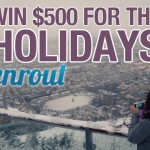 Enrout home for the holidays contest
