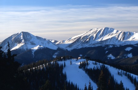 Scenic View of North Peak at Keystone