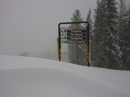 See the name of that third trail from the top? (Keystone Resort)