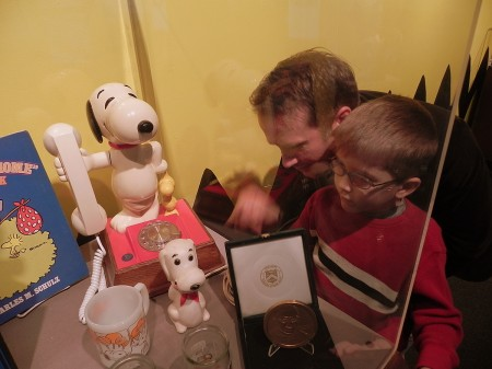 Snoopy phone at the Maryland Science Center