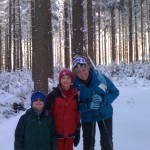 Snowshoeing in the Enchanted Forest