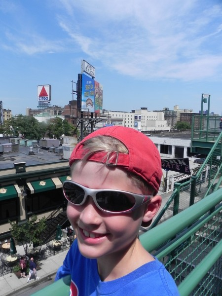The Citgo Sign from Fenway Park