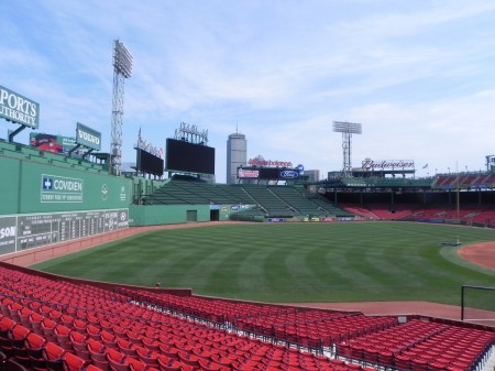 The Green Monster seen from the Grandstand