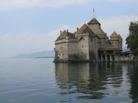 Chateau de Chillon in Montreux, Switzerland