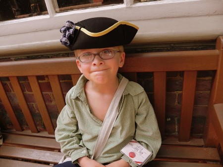 Getting in the historic spirit at Colonial Williamsburg