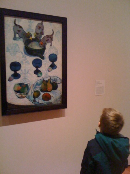 Our favorite Gaugin at MOMA