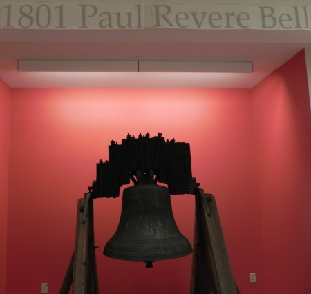 Revere bell in the Old South Meeting House