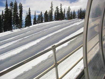 Tubing lanes at  Adventure Point, Keystone