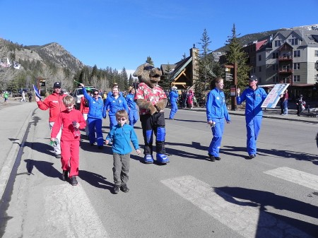 Riperoo parade at Keystone Resort, Colorado