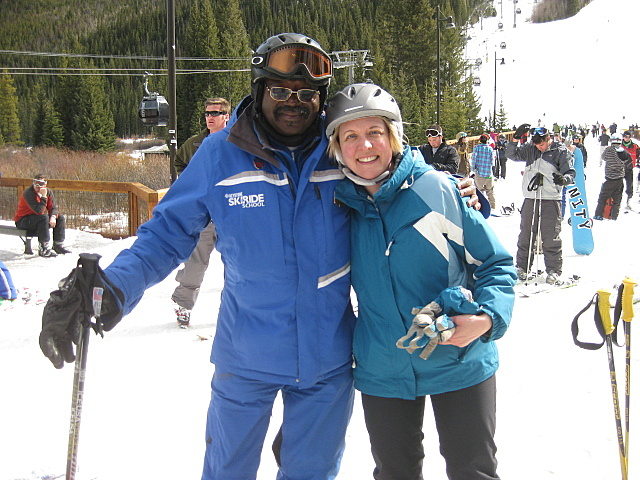 Ski instructor at Keystone Resort, Colorado