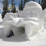 World's biggest snow fort at Keystone Resort