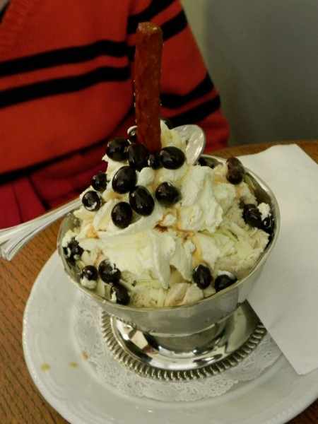 The Lightening Rod sundae is not for the faint of heart.