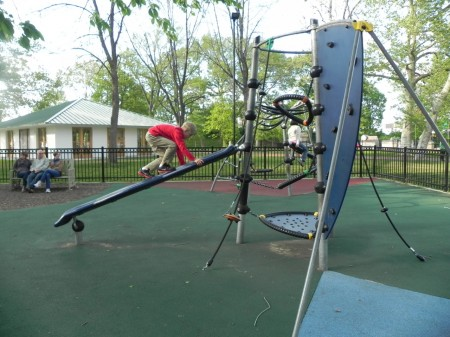Playground in Franklin Square