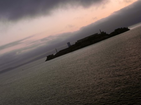 Alcatraz in the early morning