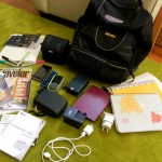 Packing a travel blogger's backpack