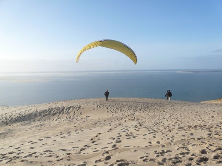 The Dune du Pilat is the largest sand dune in Europe
