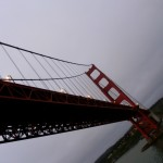 The first time I saw the Golden Gate Bridge